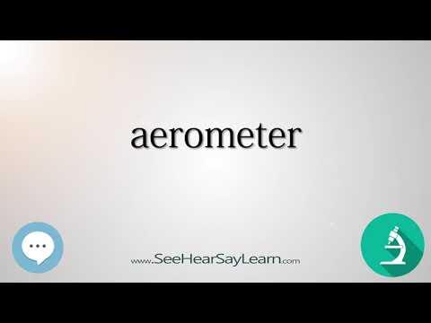 aerometer    Scientific Instrumentation 🔊