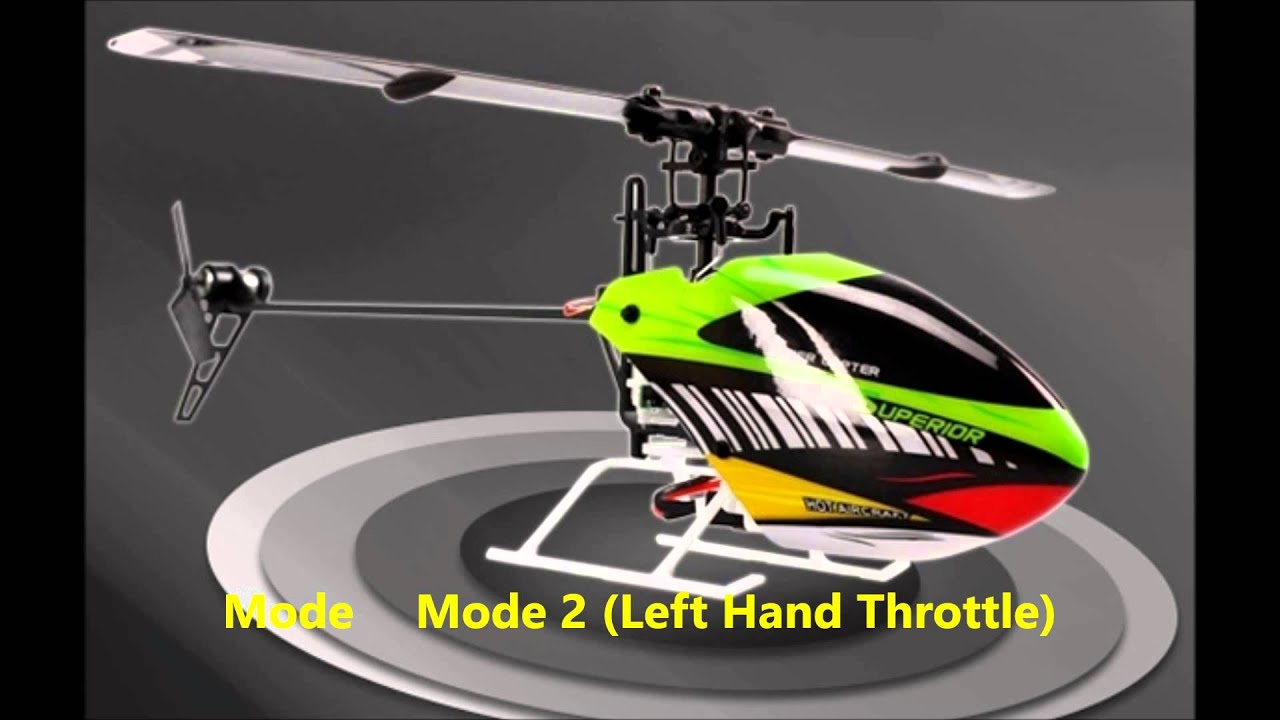 H377 6CH 3D Single Blade 2 4GHZ RC Helicopter