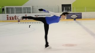 The Physics Behind Figure Skating Spins