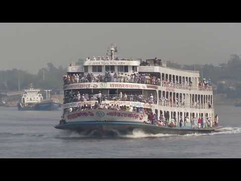Super Speedy ship MV ADVENTURE-1 gained top position to reach Dhaka from CORMONAI (চরমোনাই);Barishal