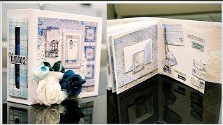 Birthday Scrapbook | Scrapbook | Anniversary Gift Ideas | Gift Ideas | Gifts For Men | Gifts For Her