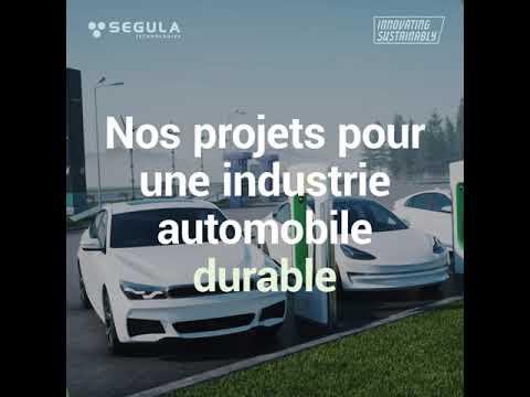 - SEGULA s'engage pour une industrie automobile durable