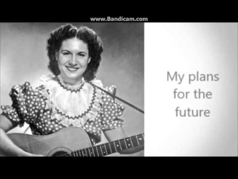 Making Believe Kitty Wells with lyrics