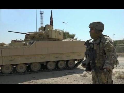 Russian and American forces patrolling the same area in Northeastern Syria | October 2020