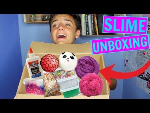 HUGE SLIME PACKAGE UNBOXING from Famous Etsy Slime Shops! GLITTER.SLIMES, SLIMEEDADDY, & MORE
