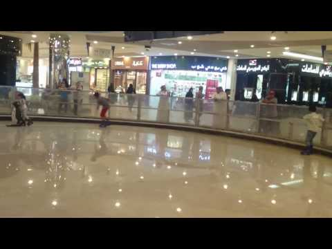 Ice Skating in Riyadh, Saudi Arabia