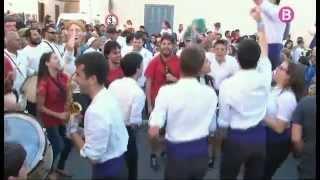 Santa Maria celebra la trobada gegantera