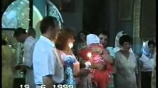 Крещение Кристины в церкви