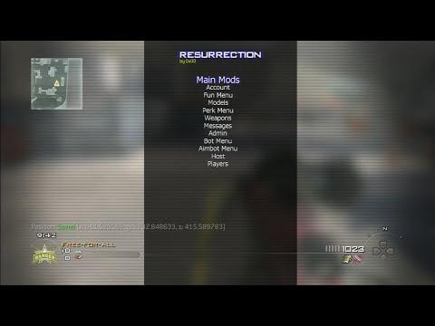 [Mw2/1.14] Resurrection SPRX Mod Menu...