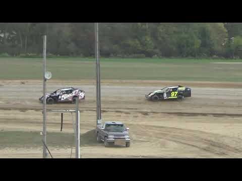 I.M.C.A. B-Feature #1 Race at Crystal Motor Speedway, Michigan on 09-17-2017!!