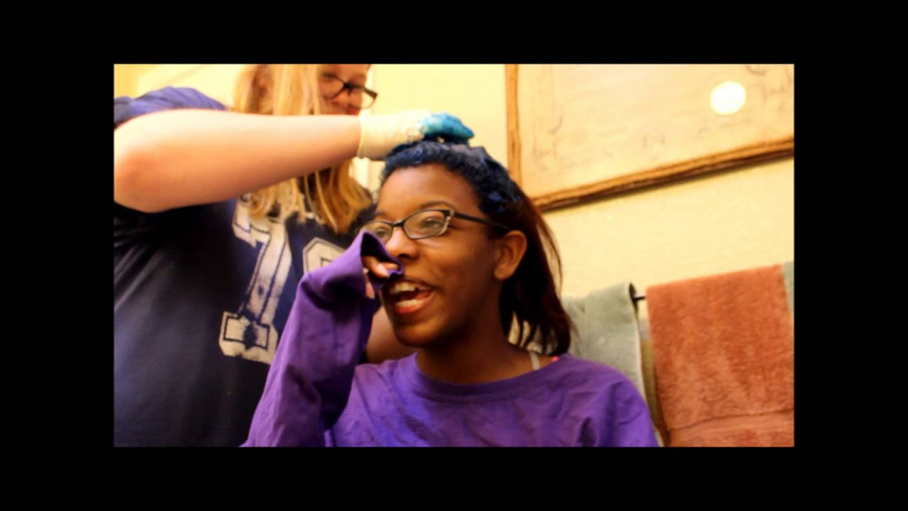 dying my hair midnight blue manic panic youtube - Midnight Blue Black Hair Color