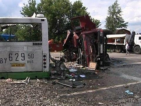 В рейсовый автобус врезался «КамАз», 18 погибших (новости)