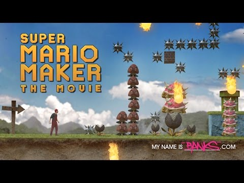 Super Mario Maker In Real Life (Live Action Parody)