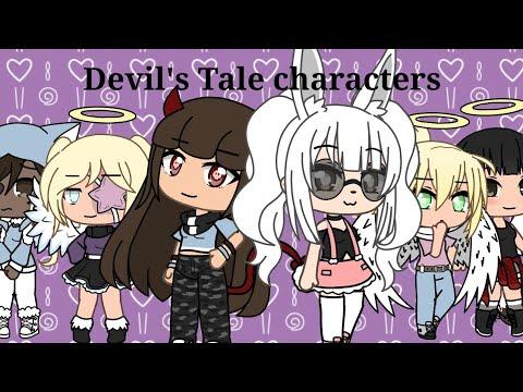 Devil's Tale Characters! | Gacha Life