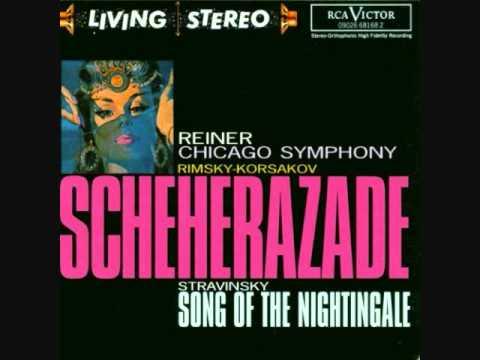 Rimsky-Korsakov - Scheherazade - 4. The Festival at Baghdad, The Sea, Shipwreck