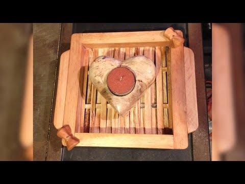 DIY: Tea Light Candle / Incense Holder - Timelapse