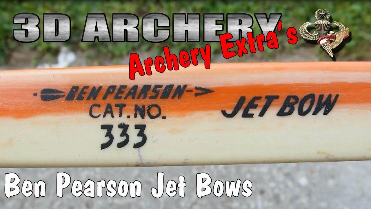 3d Archery The Ben Pearson Jet Bow Model 333 3330 Youtube