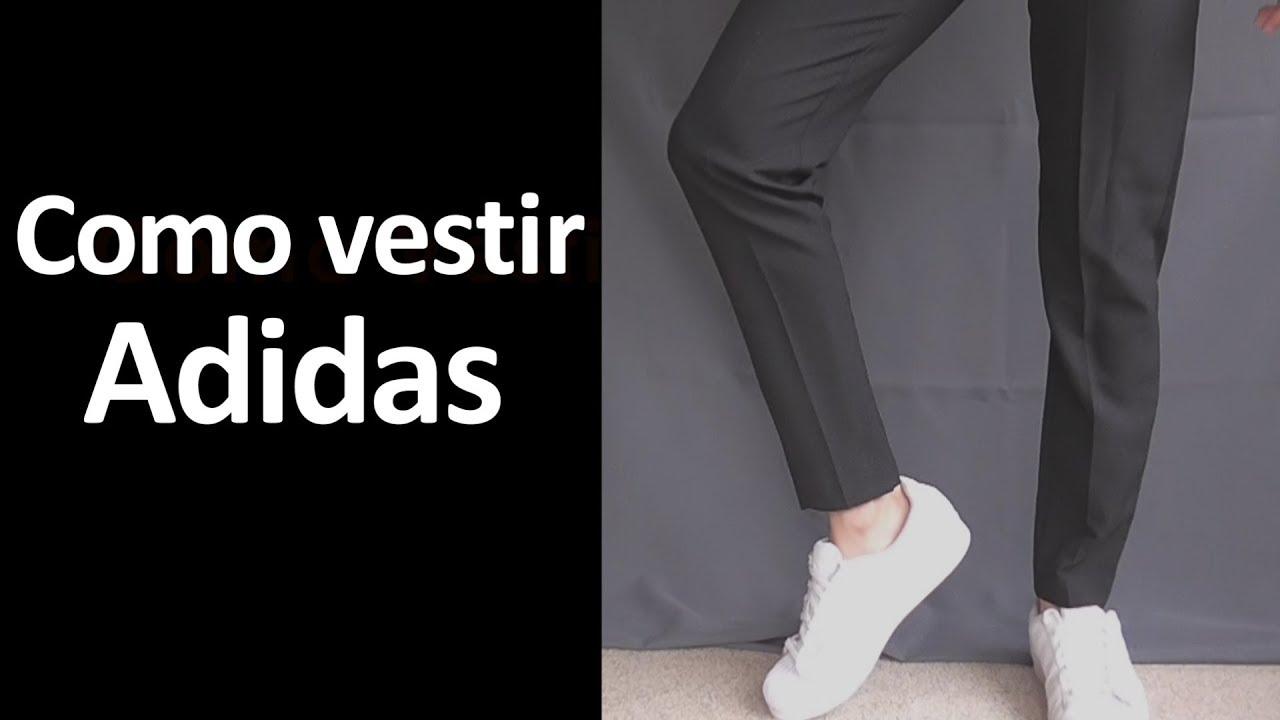 Inolvidable Avanzado Verter  Como Vestir Adidas Superstar - YouTube