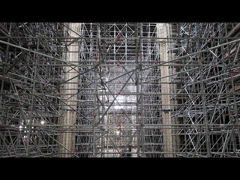 الانتهاء من أعمال التدعيم والسلامة في كاتدرائية نوتردام استعدادا لترميمها…  - 19:54-2021 / 9 / 18