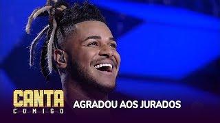 Gleidson Luz conquista 92 jurados com música de Justin Timberlake