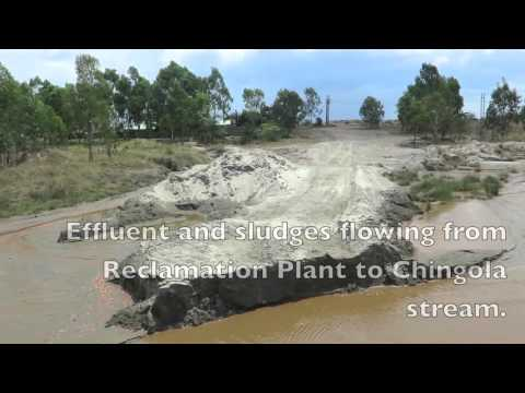 Vedanta KCM, Chingola, Sources Of Pollution Into River Kafue