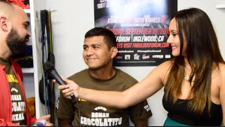 Chocolatito responds to Cuadras trash talking: