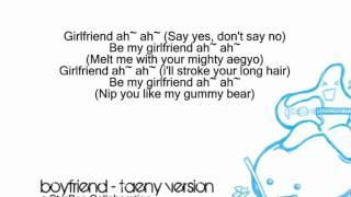 Boyfriend - TaeNy Version