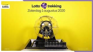 Lotto trekkingsuitslag 1 augustus 2020