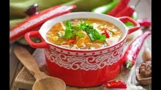 266  #Рецепт супа харчо из говядины.