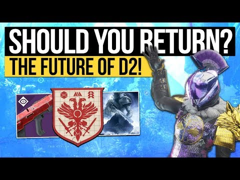Destiny 2   WHEN SHOULD YOU RETURN? - Bungie's End Game Plan & Everything That's Missing! thumbnail