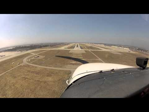 Ontario Landing and Takeoff with Southwest Jet