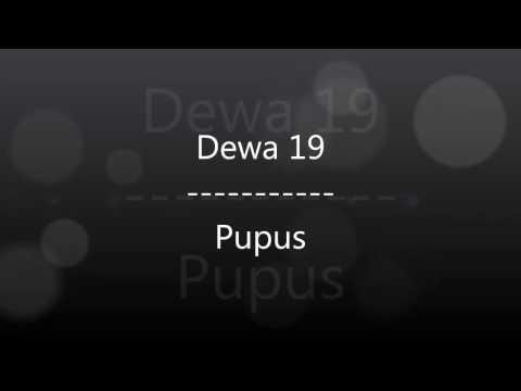 Belajar bahasa inggris menggunakan lagu Dewa 19 - Pupus