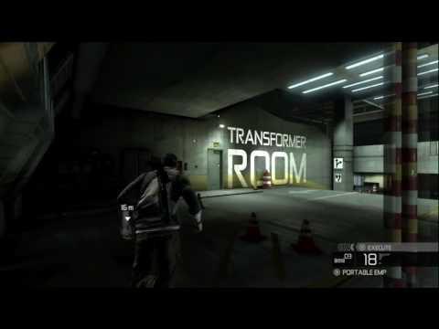 Splinter Cell Conviction Playthrough Mission 8 Third Echelon HQ 1/4 HD