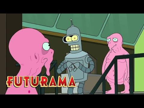 FUTURAMA  Season 6, Episode 2: Bender the Thief  SYFY