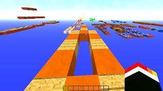 Minecraft DONT STOP SPRINTING! (Speed Running!) - w/ PrestonPlayz