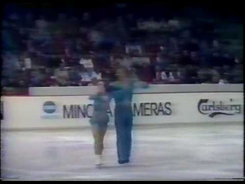 Underhill & Martini (CAN) - 1982 Worlds, Pairs' Long Program