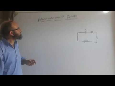 Potentiometer & its principle/class 12th - YouTube