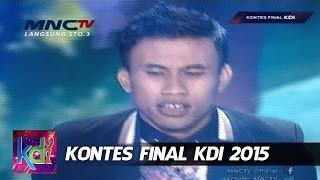 """Wahid """" Kopi Dangdut """" Gorontalo - Kontes Final KDI 2015 (11/5)"""