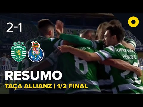 Resumo: Sporting 2-1 FC Porto - Allianz Cup | SPORT TV