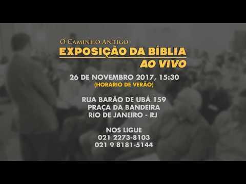 O Caminho Antigo - Exposição da Bíblia em Rio de Janeiro, RJ