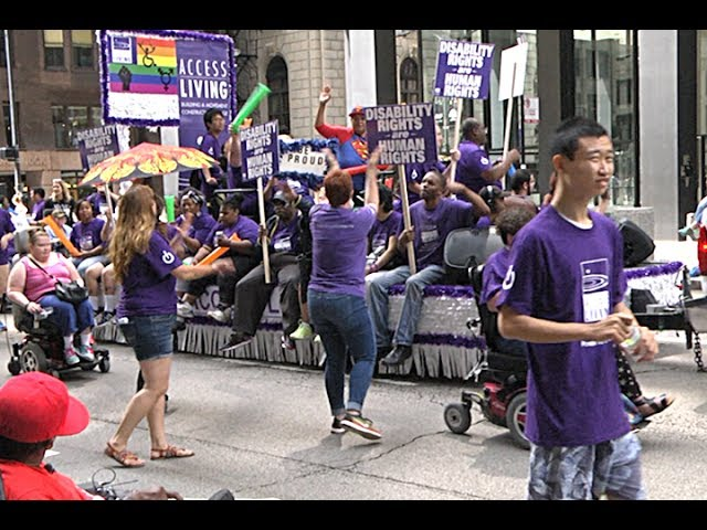 2017 Disability Pride Parade