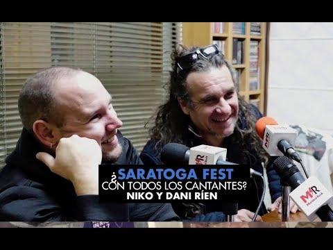 ¿Saratoga Fest con todos los cantantes? Niko y Dani ríen