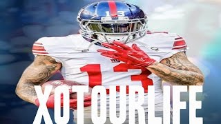odell beckham jr xo tour lif3 ultimate 2016 2017 nfl highlights