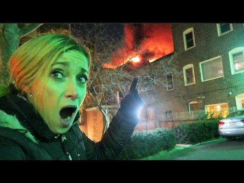 INSANE HOUSE FIRE!!!