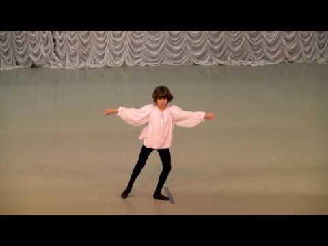 """Вариация из балета """"Арлекинада"""". Савченко Мирон"""