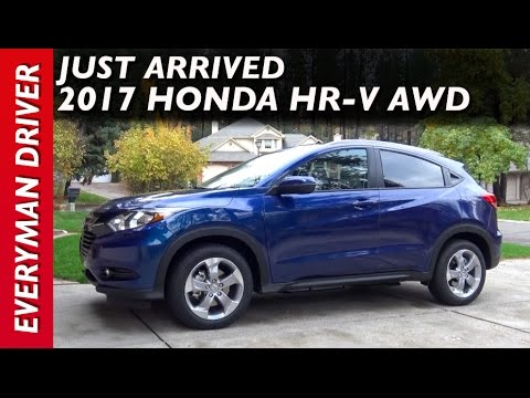 Just Arrived: 2017 Honda HR-V AWD on Everyman Driver