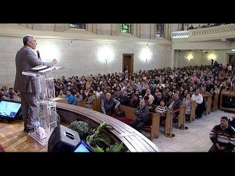كنيسة قصر الدوبارة - اجتماع صباح الجمعة - القس سامح حنا + المرنم رامي جمال - 23-02-2018
