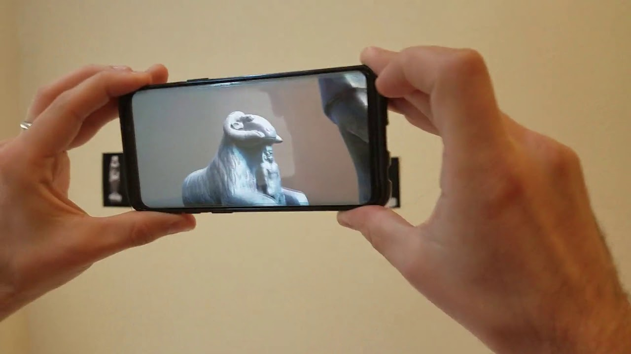 ARCore + Unity Augmented Image Demo Video