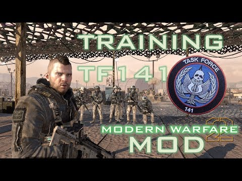 MW2 Mod Task Force 141 Training (S.S.D.D. with TF141)