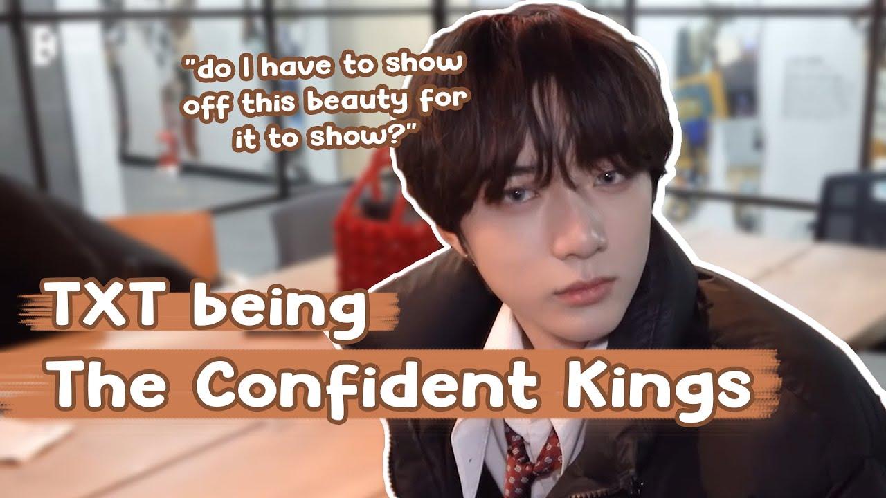 TXT Being The Confident Kings | 자신감 넘치는 왕이 된 투모로우바이투게더